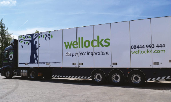 Wellocks turns to Ekeri trailers for speedier flexible deliveries of the perfect ingredient