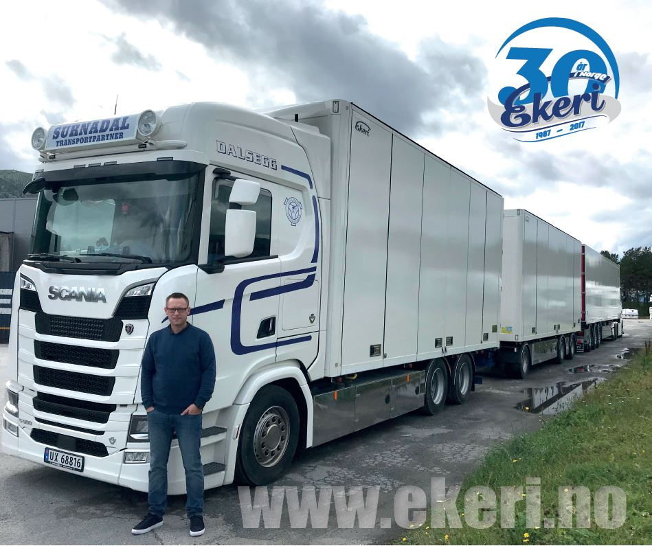 Dalsegg Transport AS - Stort sett to merker