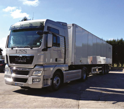 "Logistical support services vows loyalty to ""superb"" Ekeri trailers"