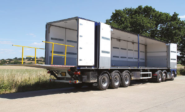 Ekeri trailers 'open doors' for Hammond transport