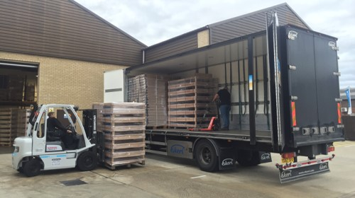 Furniture components specialist returns to Ekeri for fast and flexible loading